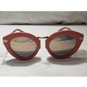 Karen Walker Lunar Flowrpatch cat eye sunglasses